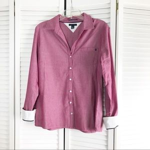 Tommy Hilfiger TH Button Down Shirt Large